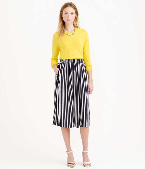 J.Crew Skirt and Sweater