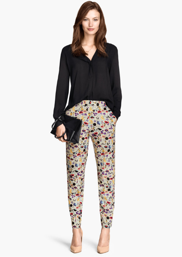 H&M Blouse and Pants