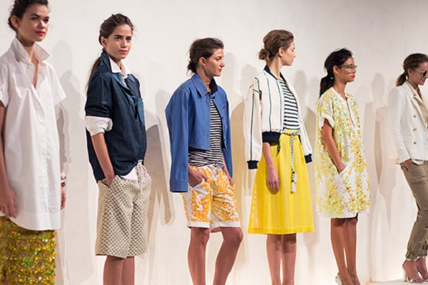 JCrew Models New York Fashion Week 2015