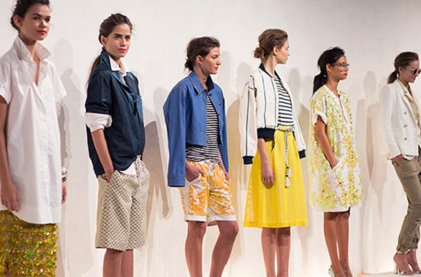 J.Crew Models New York Fashion Week 2015