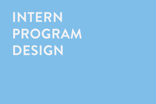 Intern Program Design