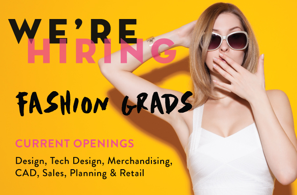 Hiring Recent Fashion Grads