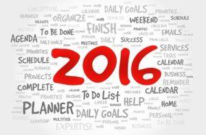 2016 To Do List
