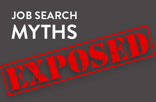 graphic job search myths exposed