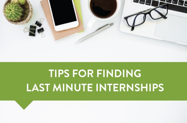 last minute internship