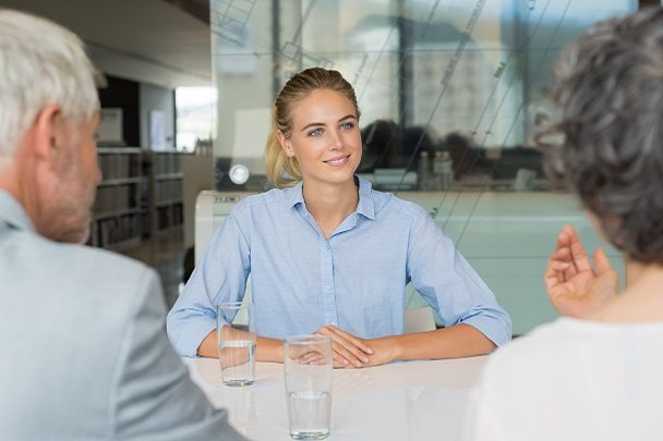 Woman in Management Interview