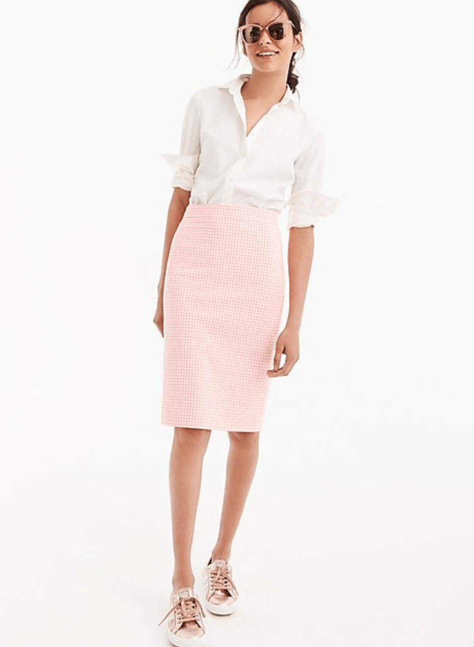 J Crew Skirt Job Interview Attire