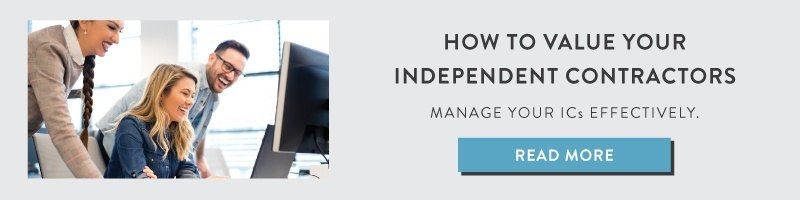 How to Value Your Independent Contractors