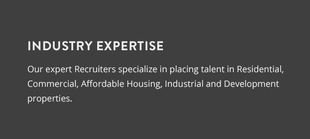 Atrium Real Estate Industry Expertise